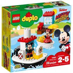 LEGO Duplo Disney 10881 Mickey csónakja