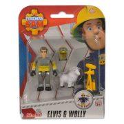 Sam a tűzoltó állatmentő szett - Elvis és Wolly