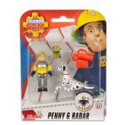 Sam a tűzoltó állatmentő szett - Penny és Radar