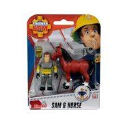 Sam a tûzoltó állatmentõ szett - Sam és Ló