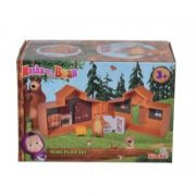Mása és a Medve - Medve otthona mini játékszett