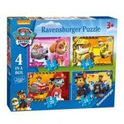 Ravensburger 070336 4 az 1-ben puzzle - Mancs őrjárat (12, 16, 20 és 24 db-os)