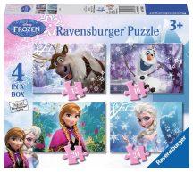 Ravensburger 07360 Disney puzzle - Jégvarázs 4 az 1-ben (12, 16, 20 és 24 db-os)