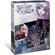 Nebulous Stars - Scratch & Sketch Képkarcoló készlet