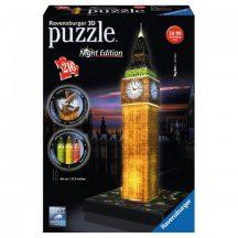 Ravensburger 12588 Night Edition 3D puzzle - Világító Big Ben (216 db-os)