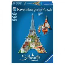 Ravensburger 16152 Sziluett puzzle - Eiffel torony (960 db-os)