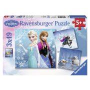 Ravensburger 09264 puzzle - Jégvarázs (3x49 db-os)