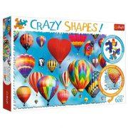 Trefl 11112 Crazy Shapes puzzle - Színes hõlégballonok (600 db)