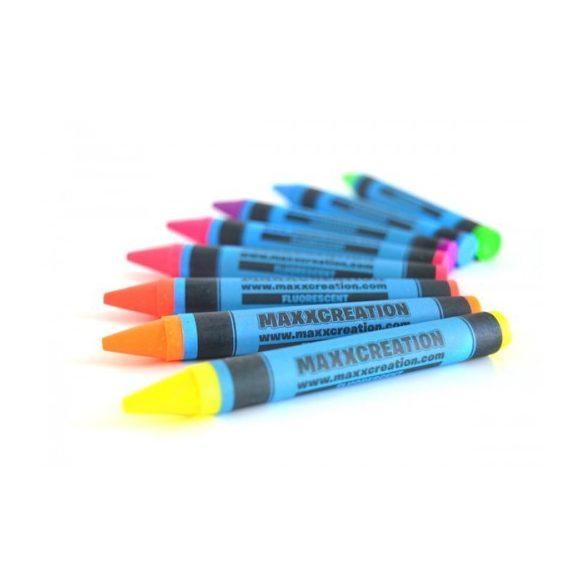 MaxxCreation Fluoreszkáló zsírkréta 8 db