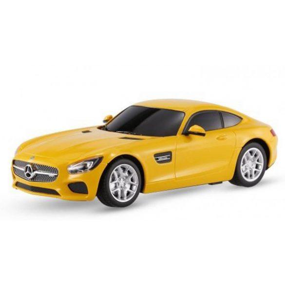 RASTAR 72100 Távirányítós autó 1:24-es méretaránnyal -  MERCEDES AMG GT (sárga)