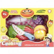 Műanyag vágható gyümölcs (10 darabos készlet)