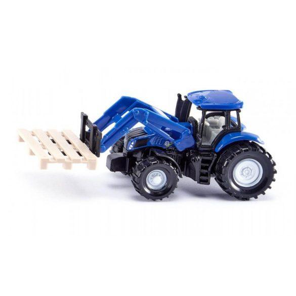 SIKU 1487 Traktor raklappal