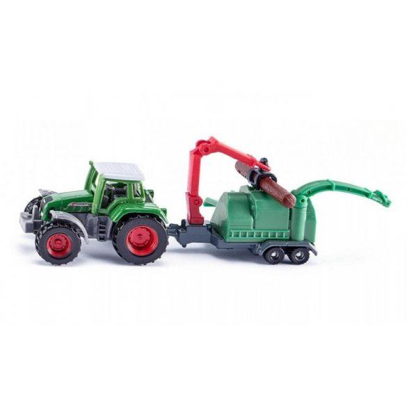 SIKU 1675 Traktor fadarabolóval