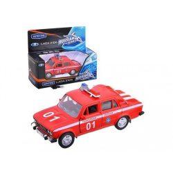 Fém autó modell 1:34/39 - Lada 2106 tűzoltó autó 11468