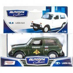 Fém autó modell 1:34/39 - Lada 4x4 katonai 6203