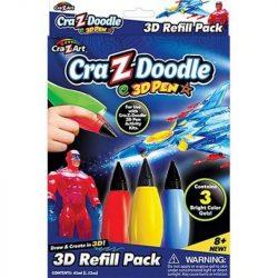 Cra-Z-Doodle 3D Határtalan fantázia játékszett - 3D Utántöltő