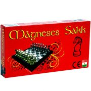 Mágneses sakk készlet, 25x25 cm táblaméret