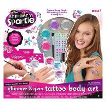 Cra-Z-Art Divat csillám tetoválás készlet