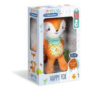 Baby Clementoni Boldog róka plüss foglalkoztató játék