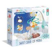Baby Clementoni - Felhő kiságyforgó fénnyel és hanggal