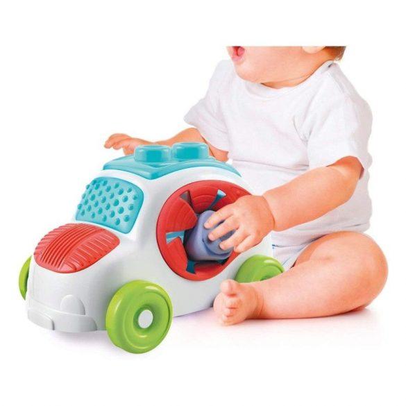 Soft Clemmy Kockagyűjtő kisautó   Építõjáték babáknak Bűbá