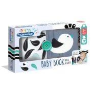 Baby Clementoni Fekete-fehér puha könyv