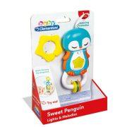 Baby Clementoni 17361 Pingvin csörgõ fénnyel és hanggal
