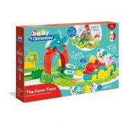 Baby Clementoni 17391 Farm interaktív kisvonat szett