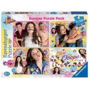 Ravensburger 06880 puzzle - Soy Luna és barátai (4x100 db-os)