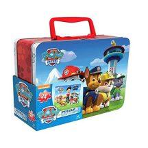 Mancs őrjárat - Kétoldalas puzzle fém bőröndben (24 db-os)