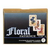 Floral Pasziánsz kártya 2x55 lap