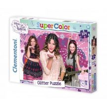 Clementoni Puzzle - Csillámos Violetta puzzle (104 db-os)