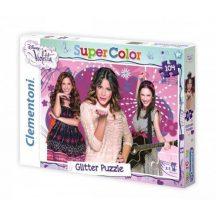 Clementoni 20094 puzzle - Csillámos Violetta (104 db-os)