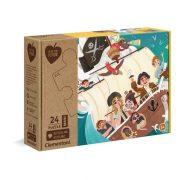 Clementoni 20258 Play for Future Maxi puzzle - Yo Ho Ho! (24 db)