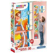 Clementoni 20330 SuperColor fali mérce puzzle - Tűzoltók (30 db)