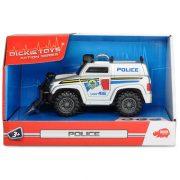 Dickie Toys Action Series - Mini szirénázó amerikai rendőrautó