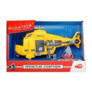 Dickie Toys Action Series - Mini mentőhelikopter fénnyel és hanggal