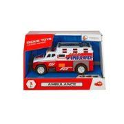 Dickie Toys Action Series - Mini mentőautó fénnyel és hanggal