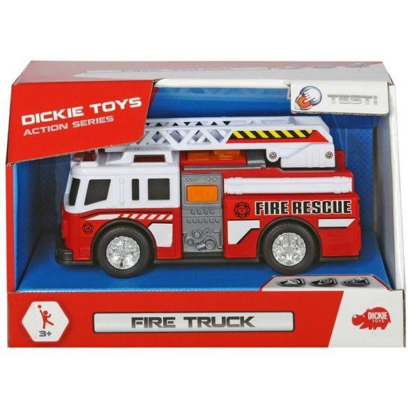 Dickie Toys Action Series - Mini tűzoltóautó fénnyel és hanggal