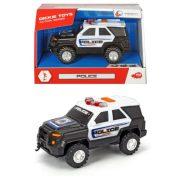 Dickie Toys Action Series - Mini vonóhorgos rendőrségi terepjáró
