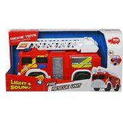 Dickie Toys Action Series - Létrás tűzoltóautó fénnyel és hanggal