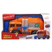 Dickie Toys Action Series - Szelektív hulladékgyűjtő autó fénnyel és hanggal