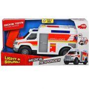Dickie Toys Action Series - Sürgősségi orvosi autó fénnyel és hanggal