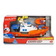 Dickie Toys Action Series - Kikötői mentőhajó fénnyel és hanggal