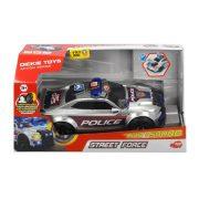 Dickie Toys Action Series - Street Force rendőrautó fénnyel és hanggal