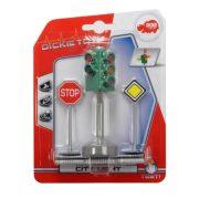 Dickie Toys City - Forgalomirányító lámpa táblákkal