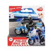 Dickie Toys SOS Series - Rendõrségi motor szett