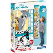 Clementoni 20335 Fali mérce puzzle - Disney állatok (30 db)