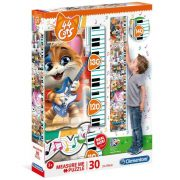 Clementoni 20336 Fali mérce puzzle - 44 csacska macska (30 db)