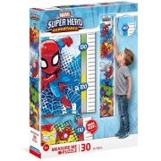 Clementoni 20337 Fali mérce puzzle - Marvel szuperhősök (30 db)